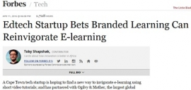 Edtech Startup Bets Branded Learning Can Reinvigorate E-Learning