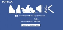 TOPICA has become the official sponsor of Facebook Developer Challenge Vietnam 2016